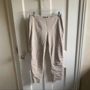 Tan Elie Tahari Cropped Pants Khaki
